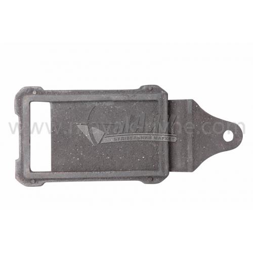 Шибер (заслонка) чавунний ШЧ-2 390×190×290 мм 3,2 кг