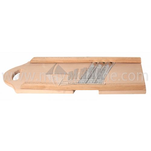 Шатківниця дерев'яна для капусти 3 ножа