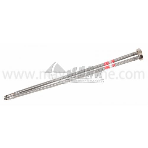 Шланг напірний для змішувачів Tucai TAQ GRIF 15 мм 0,5 м нержавіюча сталь 2 шт