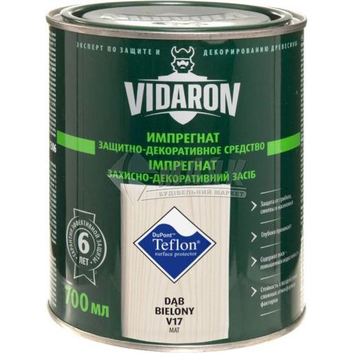 Захист для деревини Vidaron Impregnat 4в1 V17 700 мл вибілений дуб