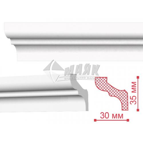 Плінтус стельовий декоративний NMC MF Decoplintus 35×30×2000 мм