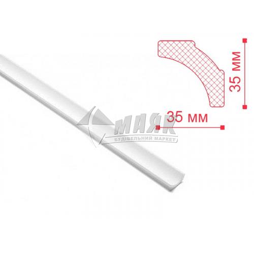 Плінтус стельовий декоративний NMC В2 Nomastyl 35×35×2000 мм