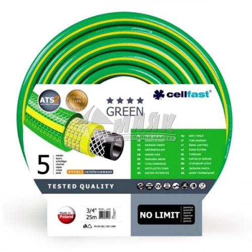 "Шланг для поливу Cellfast GREEN ATS 3/4"" 25 м"