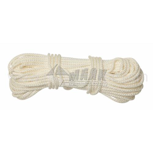 Шнур плетений Д40 4 мм х 25 м р.н. 270 кг