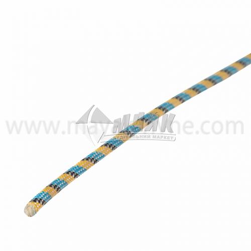 Шнур плетений Д69 6,5 мм х 50 м р.н. 840 кг