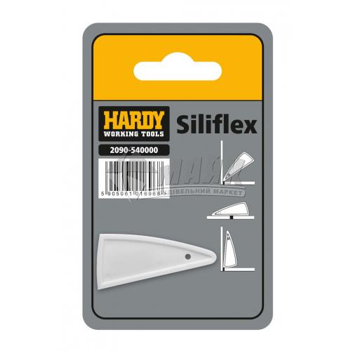 Шпатель для силікону HARDY Silifex гумовий