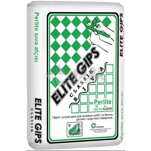 Штукатурка гіпсова Elite Gips Classik Siva стартова 2 кг