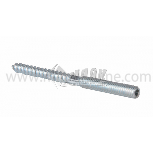 Шпилька двогвинтова М10×120 мм сталева