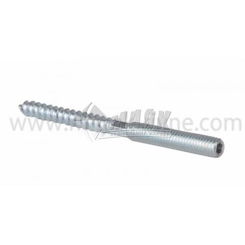 Шпилька двогвинтова М10×140 мм сталева