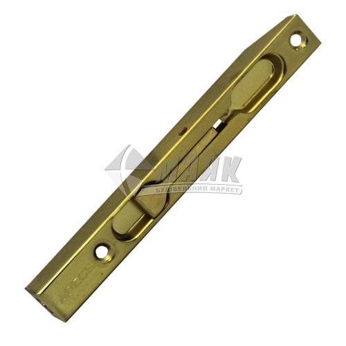 Шпінгалет торцевий Apecs FB-01-140-GM золото матове