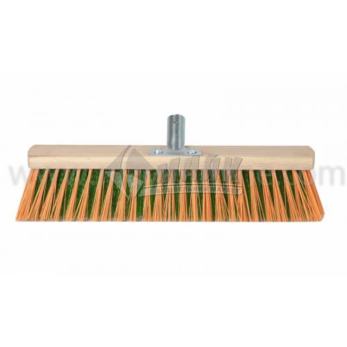 Щітка дерев'яна для вулиці нейлон 400 мм без ручки