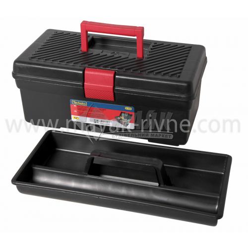 """Ящик для інструменту з лотком 12"""" 312×163×130 мм пластиковий"""