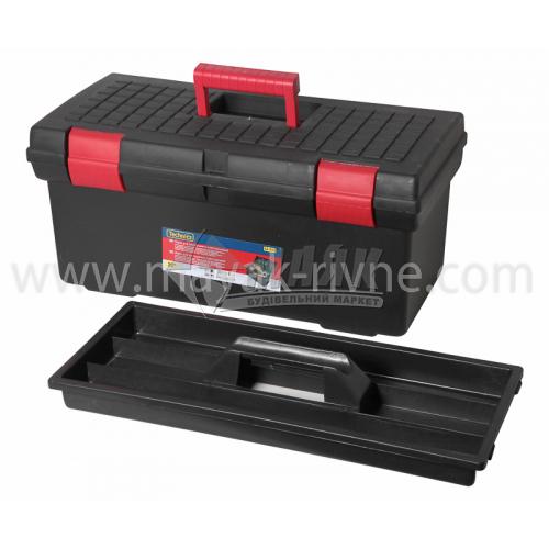 """Ящик для інструменту з лотком 20"""" 480×230×200 мм пластиковий"""