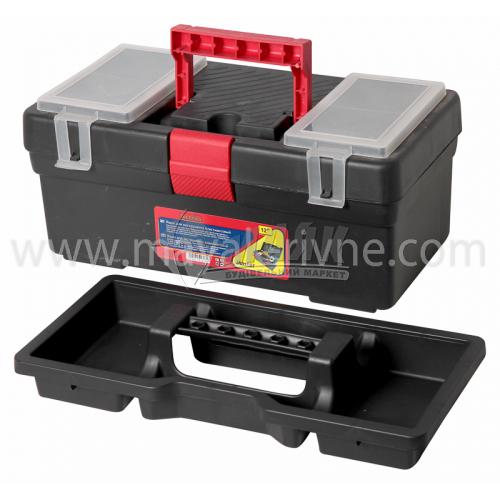 """Ящик для інструменту з лотком та органайзерами Master 12"""" 310×160×130 мм пластиковий"""