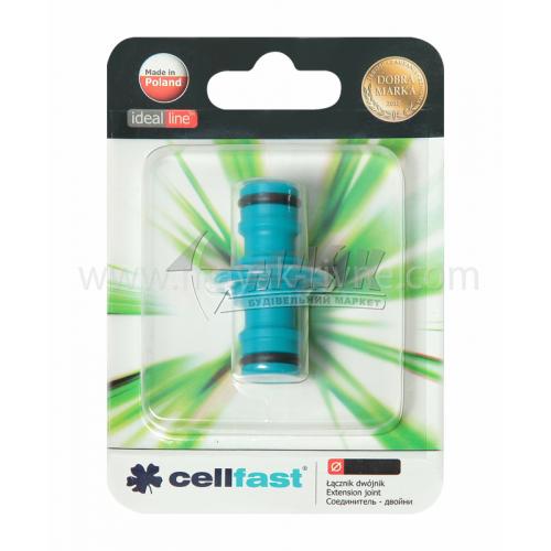 З'єднувач для шланга пластиковий Cellfast двосторонній