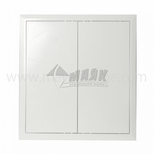 Дверцята ревізійні квадратні ДОМОВЕНТ Л 400×400 мм
