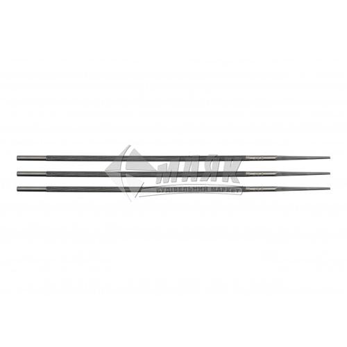 Набір напилків для заточування ланцюгів VOREL 4×200 мм 3 шт