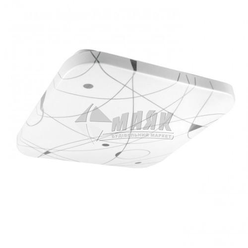 Світильник світлодіодний квадратний накладний Feron AL537 20Вт 5000°К IP20 білий
