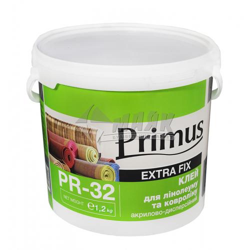 Клей для лінолеуму та ковроліну Primus акриловий 1,2 кг