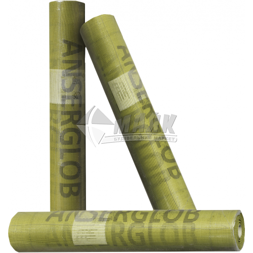 Склосітка армуюча Anserglob 160 г/кв.м 4×4 мм 1×50 м