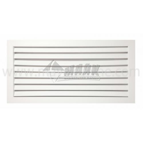 Решітка вентиляційна квадратна VENTS ГР жалюзі 300×300 мм