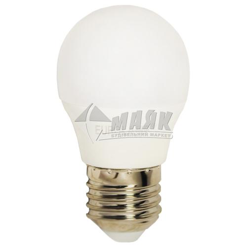 Лампа світлодіодна куля EUROLAMP 5Вт Е27 G45/Р45 4000°К (LED-G45-05274(P))