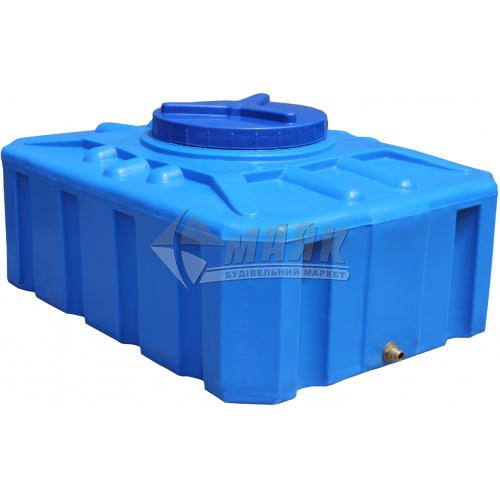 Ємкість двошарова харчова квадратна пластикова Євро Пласт EК П 200 л