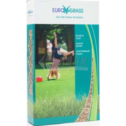 Насіння Садиба Центр Euro Grass Газонна трава Спортивна 100 г