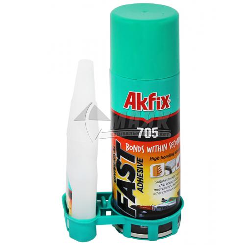 Клей універсальний Akfix 705 з активатором 200 мл+50 мл