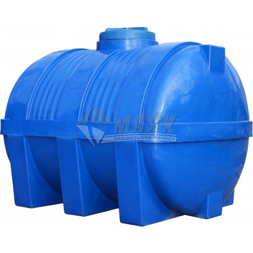 Ємкість двошарова харчова горизонтальна пластикова Євро Пласт EG Рл 2000 л
