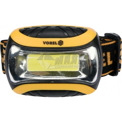 Ліхтар налобний на батарейках VOREL 88676 3Вт