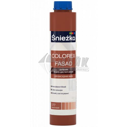 Барвник Sniezka Colorex Fasad 0,75 л 177 теракотовий