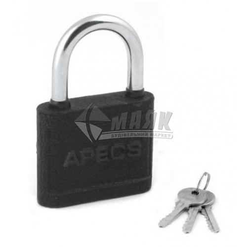 Замок навісний відкритий (амбарний) Apecs PD-03-60 3 ключі чавунний