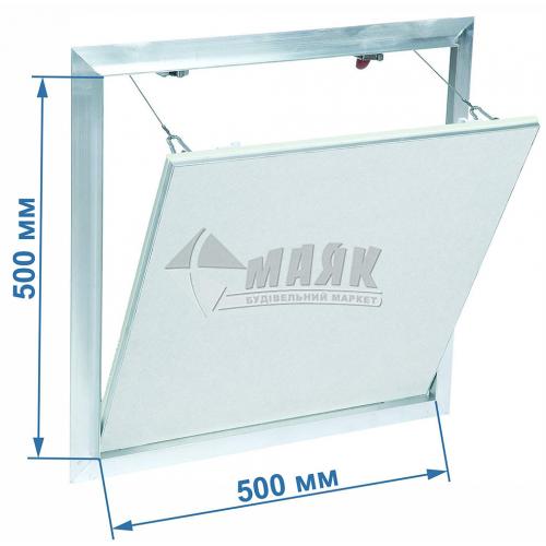 Дверцята ревізійні F2 G:125 500x500 мм гіпсокартон 12,5 мм