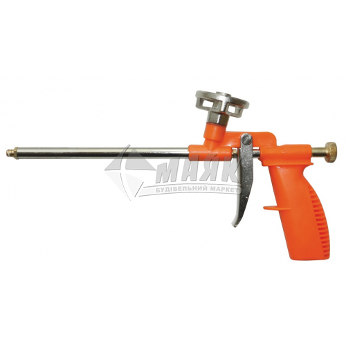Пістолет для монтажної піни Grad пластиковий алюмінієвий адаптер 290 мм