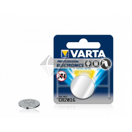 Батарейка VARTA CR2016 Lithium літієва 1 шт
