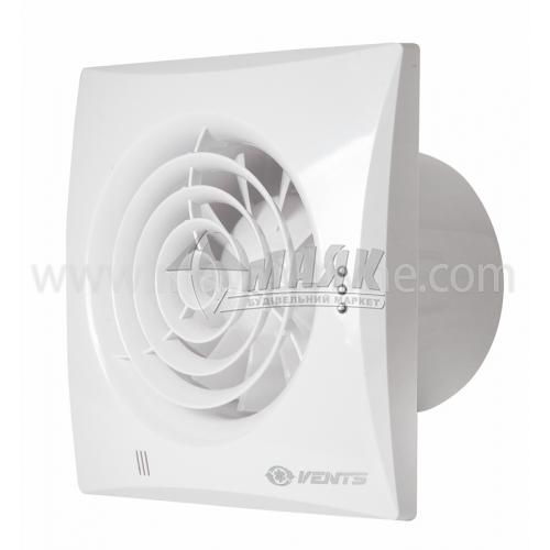 Вентилятор витяжний VENTS 100 Квайт 158×158 мм