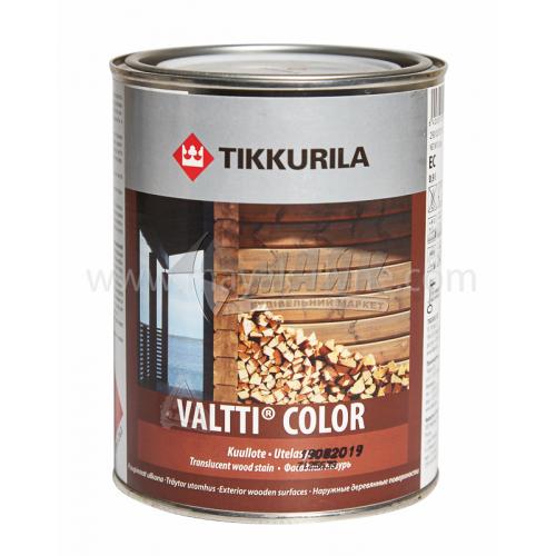 Лазур для деревини Tikkurila Valtti Color для зовнішніх робіт 0,9 л