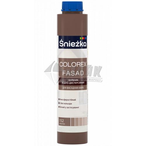 Барвник Sniezka Colorex Fasad 0,75 л 152 капучіно