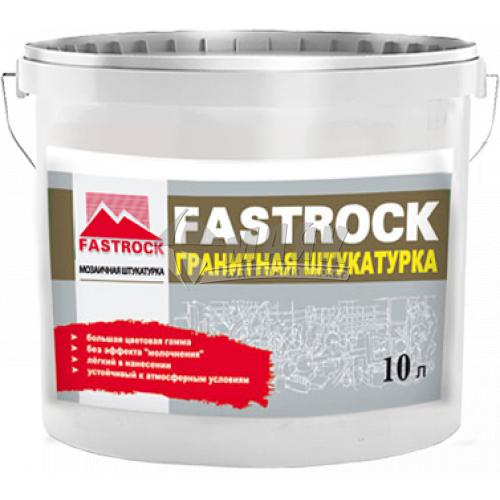Штукатурка декоративна акрилова Fastrock PRO Мозаїка 14 кг