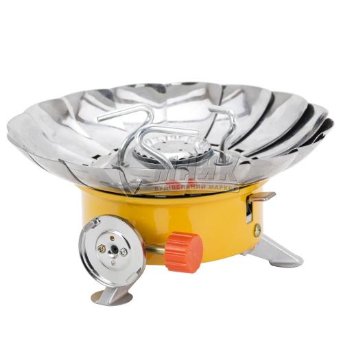 Плита газова SIGMA із п'єзозапалом і захистом від вітру (чохол)