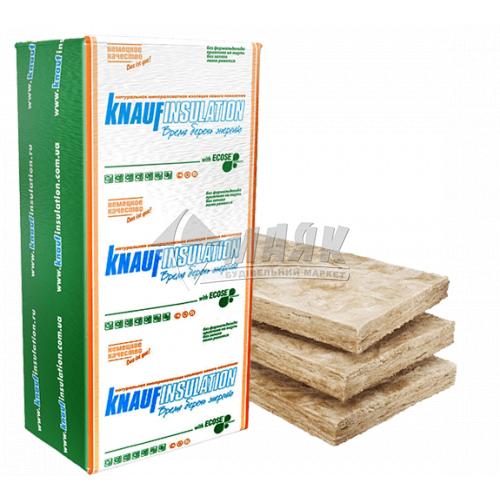 Вата мінеральна скловолоконна KNAUF ТЕПЛОплита 037 50 мм 18,3 кв.м