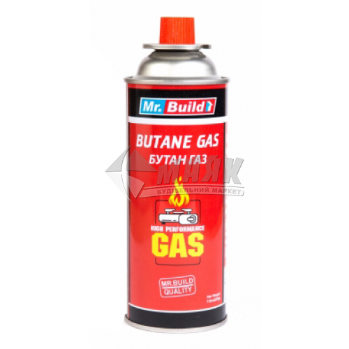 Балончик газовий (бутан) Mr.Build всесезонний 400 мл 220 г
