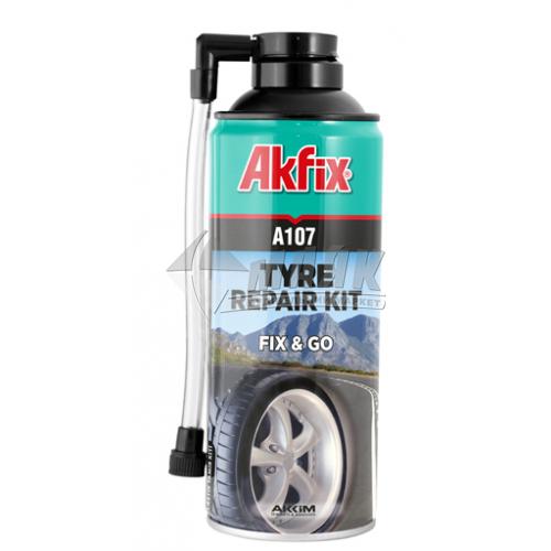 Спрей для ремонту шин Akfix А107 300 мл
