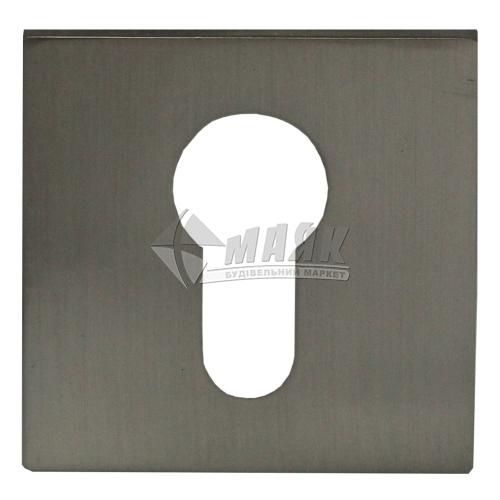 Накладка на циліндр квадратна MVM E20 SN нікель матовий