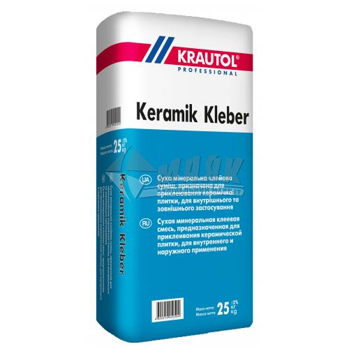 Клей для облицювальної плитки KRAUTOL Keramik Kleber 25 кг