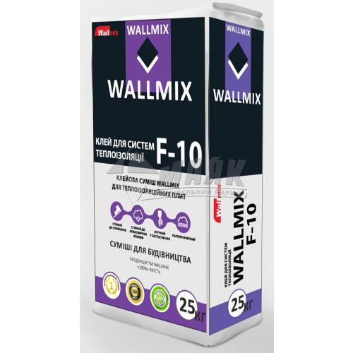Клей монтажний для систем теплоізоляції Wallmix F-10 25 кг