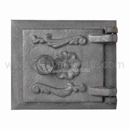 Дверцята прочисні чавунні Булат 160×135 мм 1,7 кг