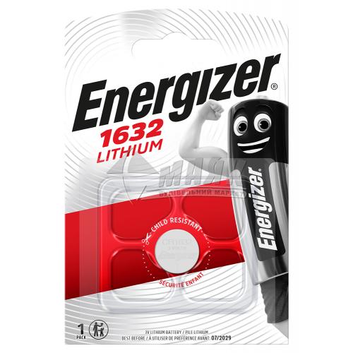 Батарейка ENERGIZER CR1632 Lithium літієва 1 шт