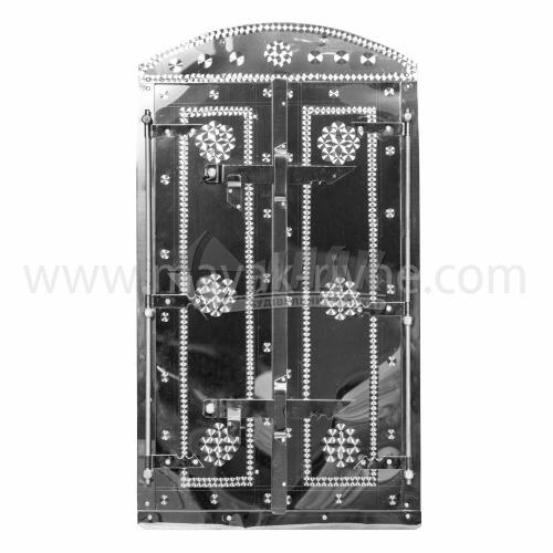 Дверцята для коптильні нержавіюча сталь 400×700 мм 6,97 кг